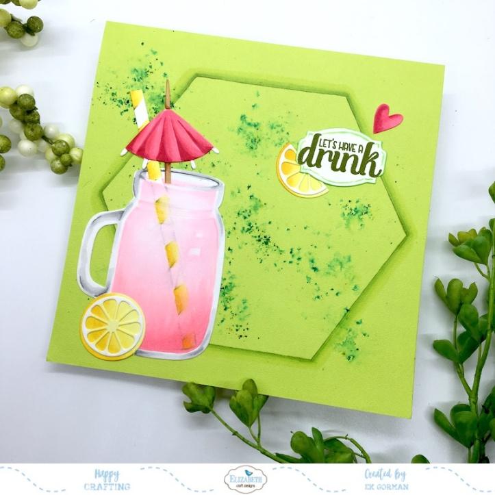 EK Gorman, Elizabeth Craft Designs, Pink Lemonade a