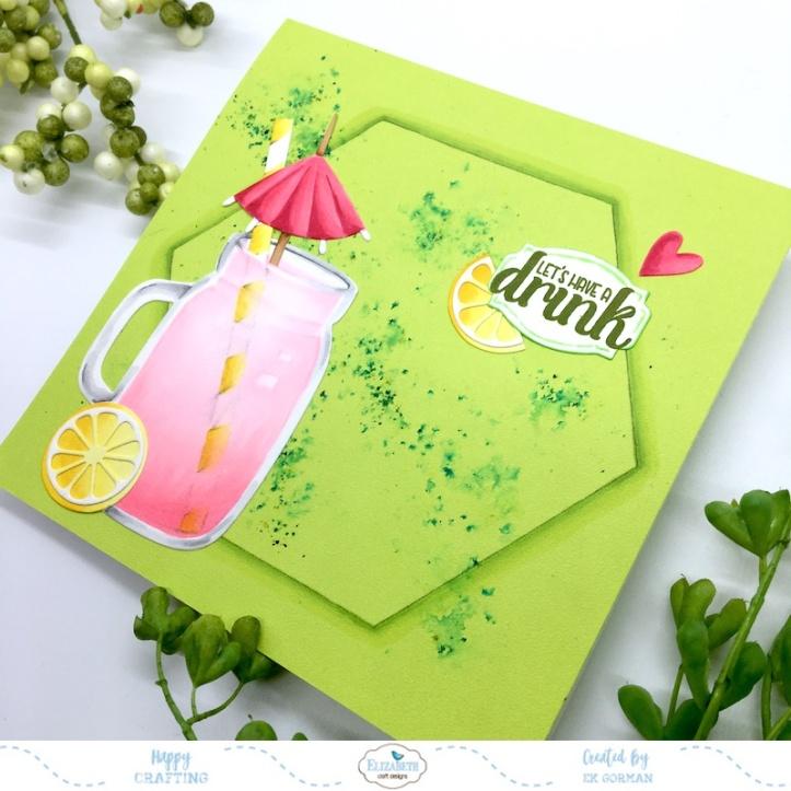 EK Gorman, Elizabeth Craft Designs, Pink Lemonade b
