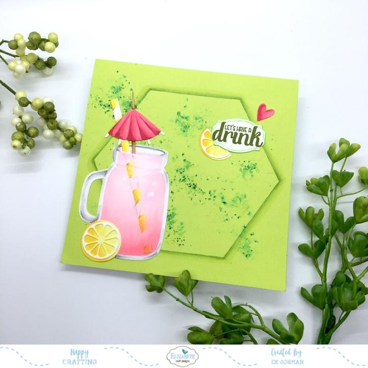 EK Gorman, Elizabeth Craft Designs, Pink Lemonade c
