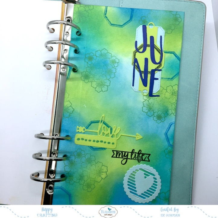 EK Gorman, Elizabeth Craft Designs June cover page a