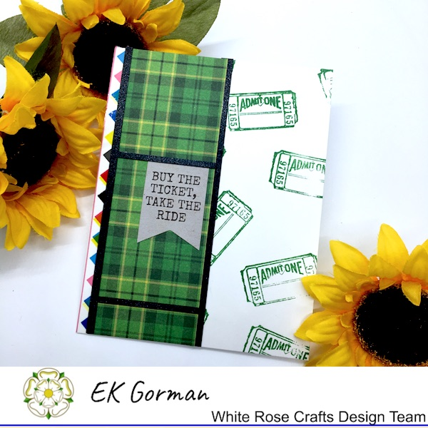 EK Gorman, White Rose Craft, Marvelous Men FFC1 c