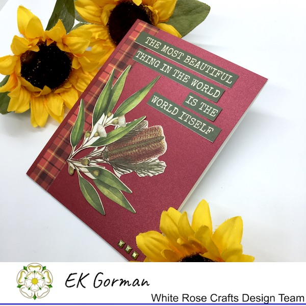 EK Gorman, White Rose Craft, Marvelous Men FFC1 k