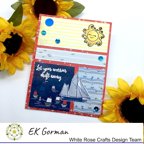 EK Gorman, White Rose Crafts, June Sketch Challenge a