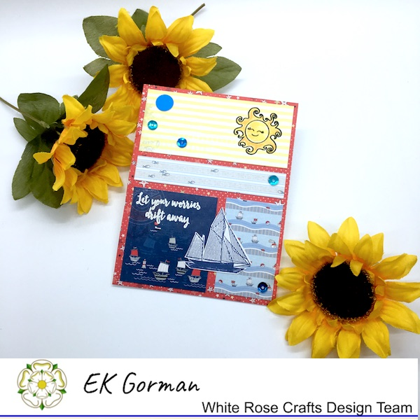 EK Gorman, White Rose Crafts, June Sketch Challenge c
