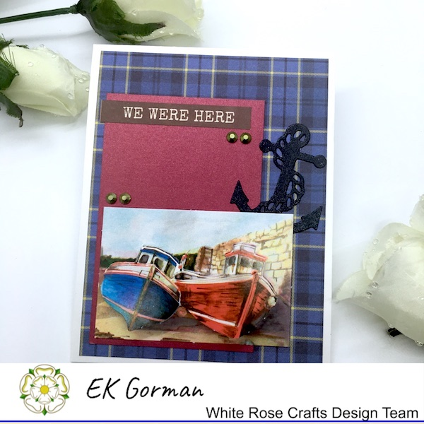 EK Gorman, White Rose Crafts, Marvelous Men 5FC3 a