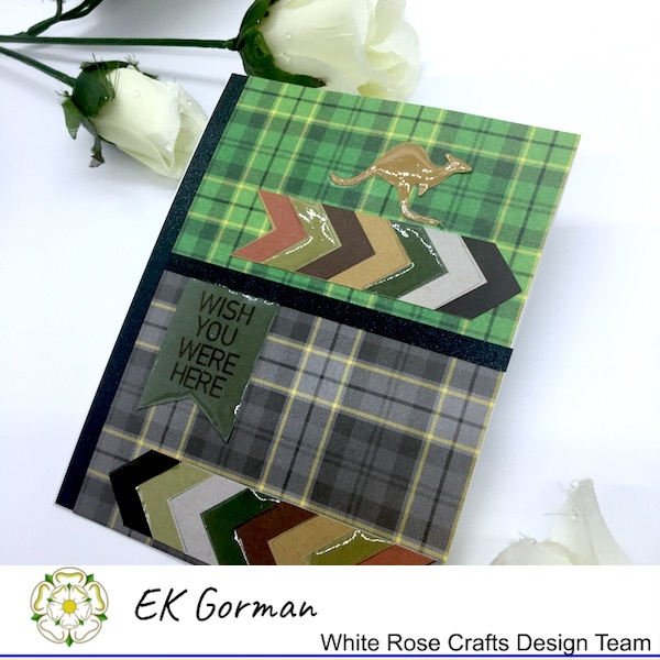 EK Gorman, White Rose Crafts, Marvelous Men 5FC3 g