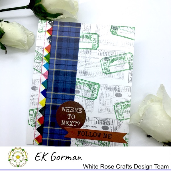 EK Gorman, White Rose Crafts, Marvelous Men 5FC3 j