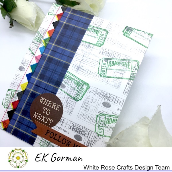 EK Gorman, White Rose Crafts, Marvelous Men 5FC3 k