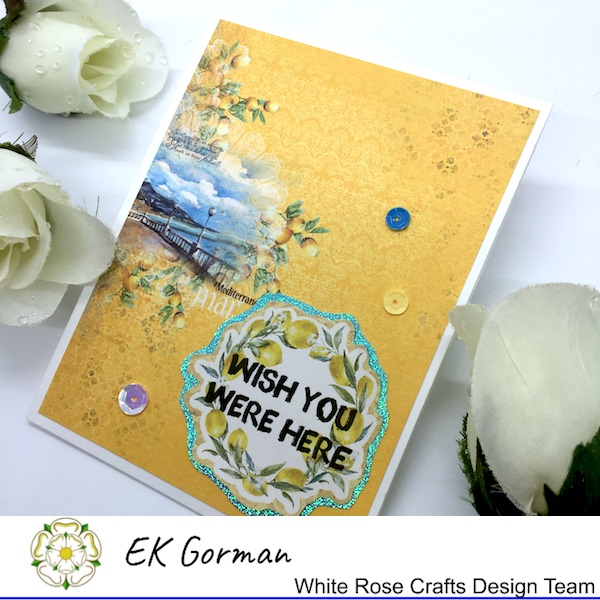 EK Gorman, White Rose Crafts, Mediterranean Dreams 5FC 1 b