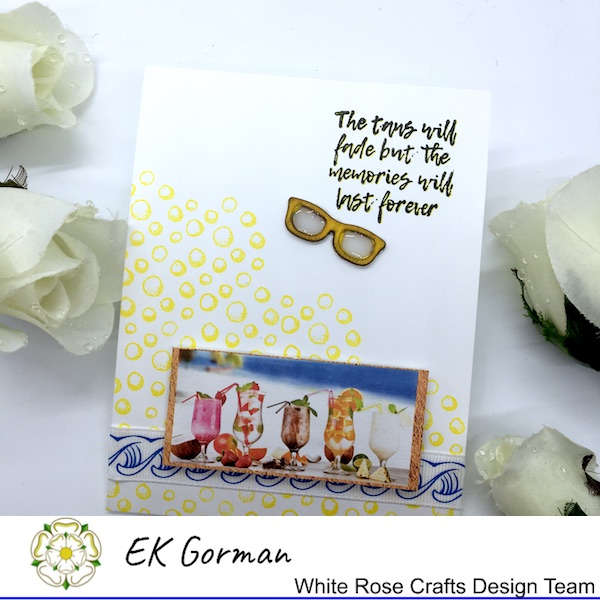 EK Gorman, White Rose Crafts, Mediterranean Dreams 5FC 1 g