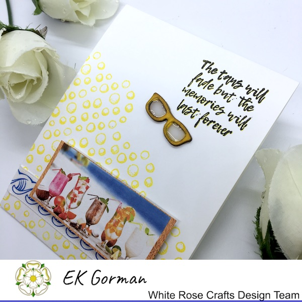 EK Gorman, White Rose Crafts, Mediterranean Dreams 5FC 1 h