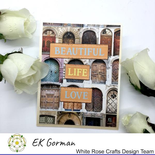EK Gorman, White Rose Crafts, Mediterranean Dreams 5FC 1 i