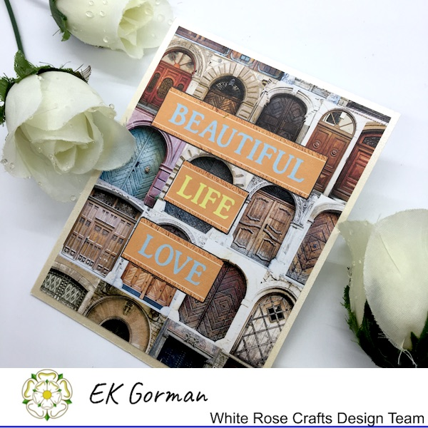 EK Gorman, White Rose Crafts, Mediterranean Dreams 5FC 1 j