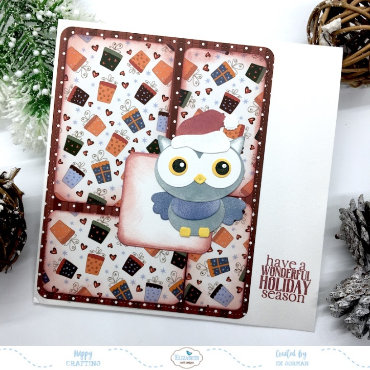 EK Gorman, Elizabeth Craft Designs, holiday release a
