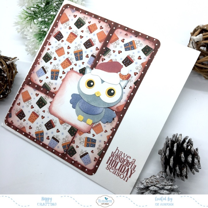 EK Gorman, Elizabeth Craft Designs, holiday release b