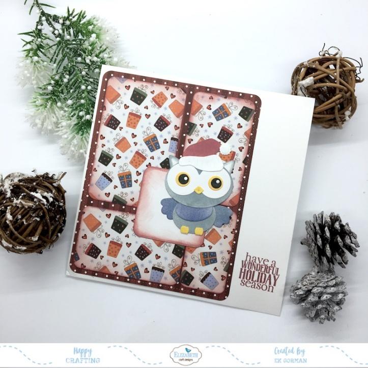 EK Gorman, Elizabeth Craft Designs, holiday release c