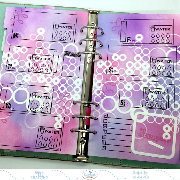 EK Gorman, Elizabeth Craft Designs July Panner page e