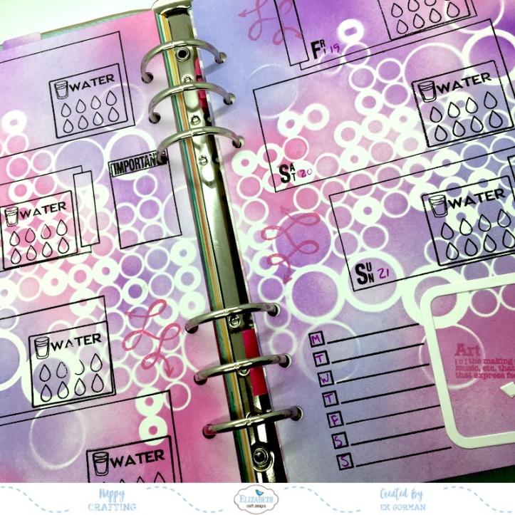 EK Gorman, Elizabeth Craft Designs July Panner page h