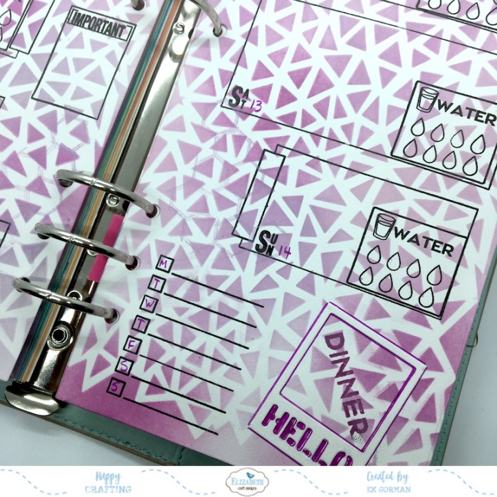 EK Gorman, Elizabeth Craft Designs July Panner page i