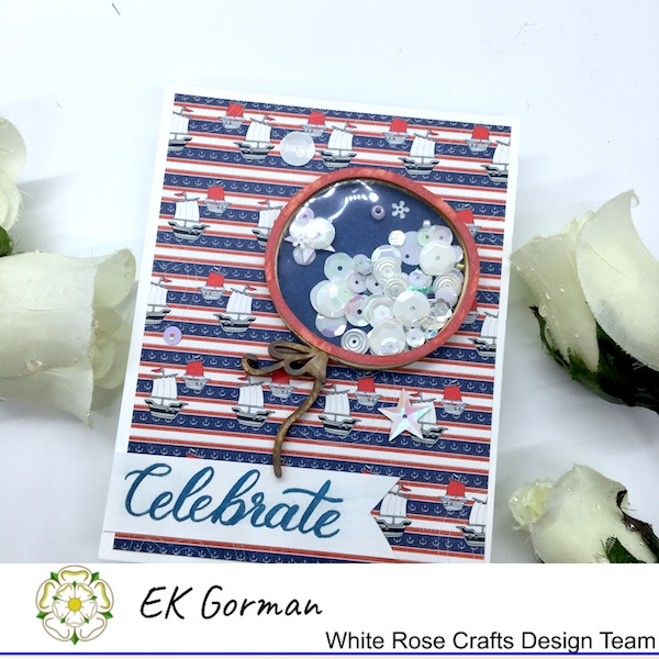 EK Gorman, White Rose Crafts, 4th of July a
