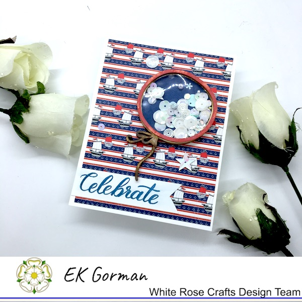 EK Gorman, White Rose Crafts, 4th of July c