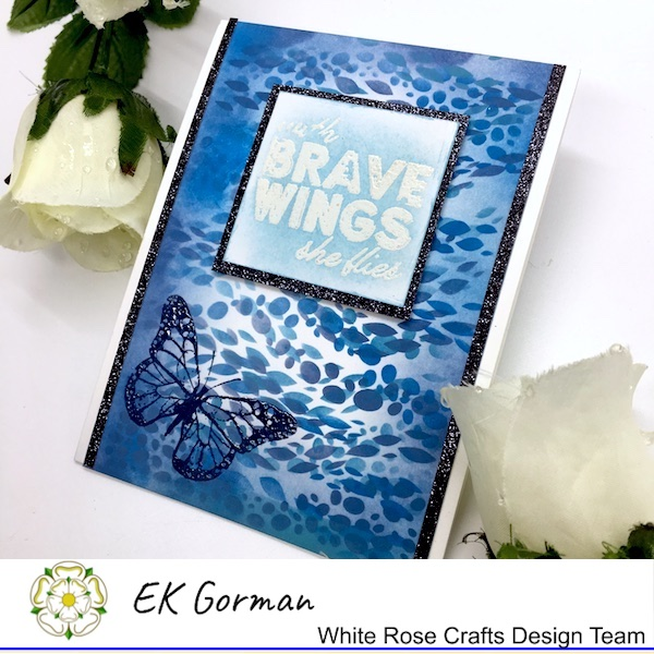EK Gorman, White Rose Crafts, embossing b