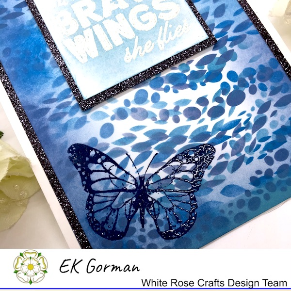 EK Gorman, White Rose Crafts, embossing d