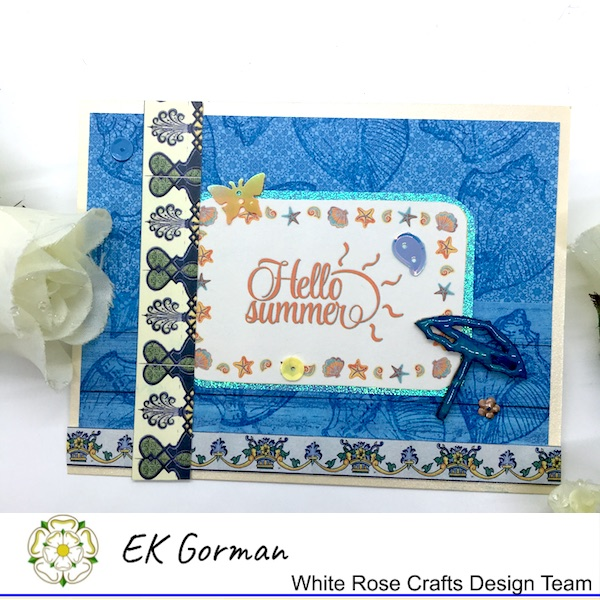Ek Gorman, White Rose Crafts, July Sketch a