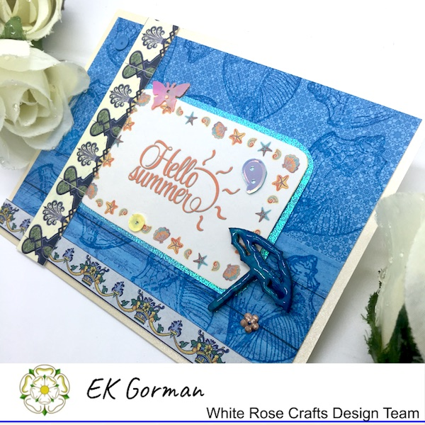 Ek Gorman, White Rose Crafts, July Sketch b