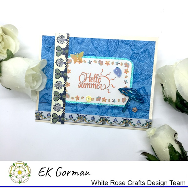 Ek Gorman, White Rose Crafts, July Sketch c
