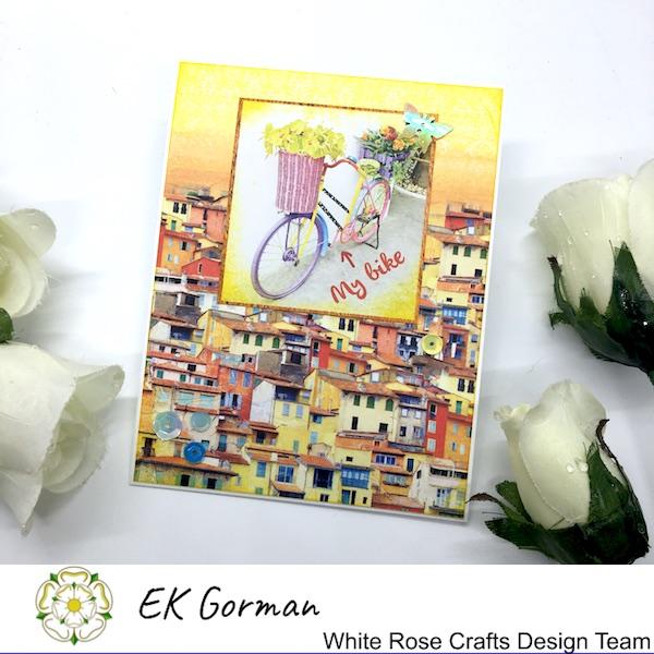 EK Gorman, White Rose Crafts, Mediteranean dreams 5FC Part II a