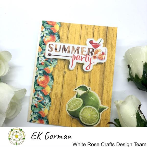 EK Gorman, White Rose Crafts, Mediteranean dreams 5FC Part II e