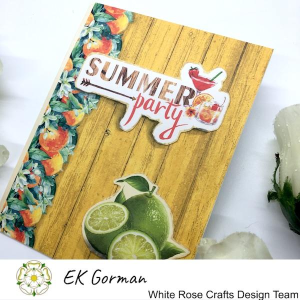 EK Gorman, White Rose Crafts, Mediteranean dreams 5FC Part II f