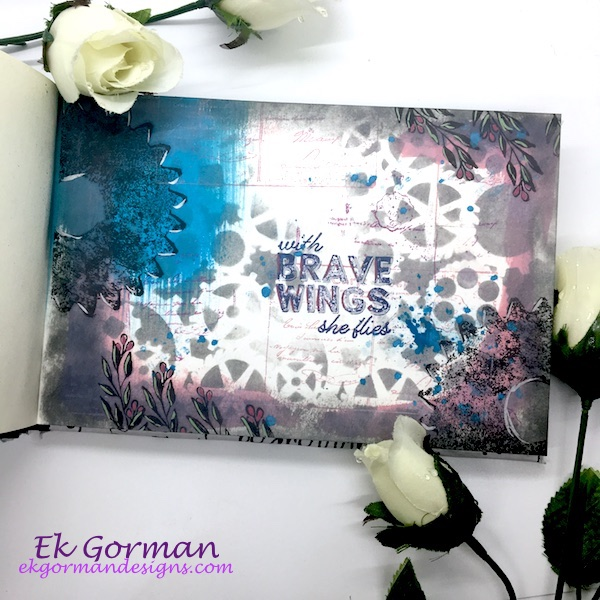 Ek Gorman, Card Maker Art Journal 1 a