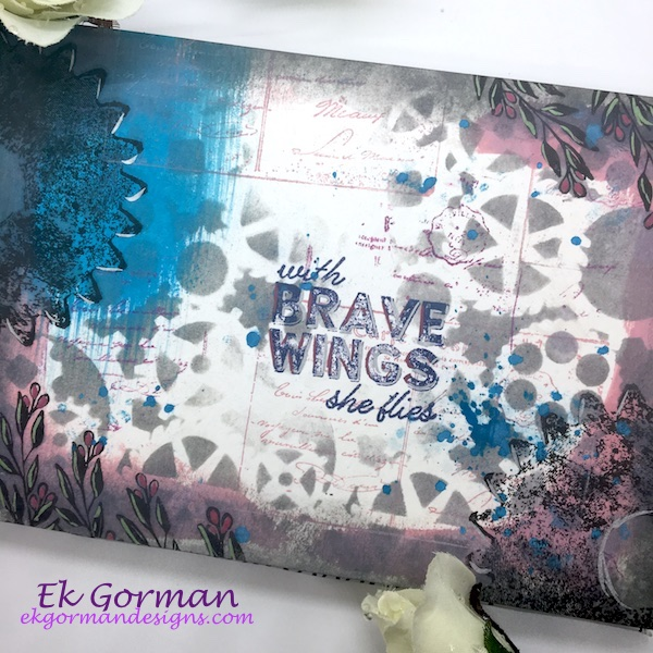Ek Gorman, Card Maker Art Journal 1 b