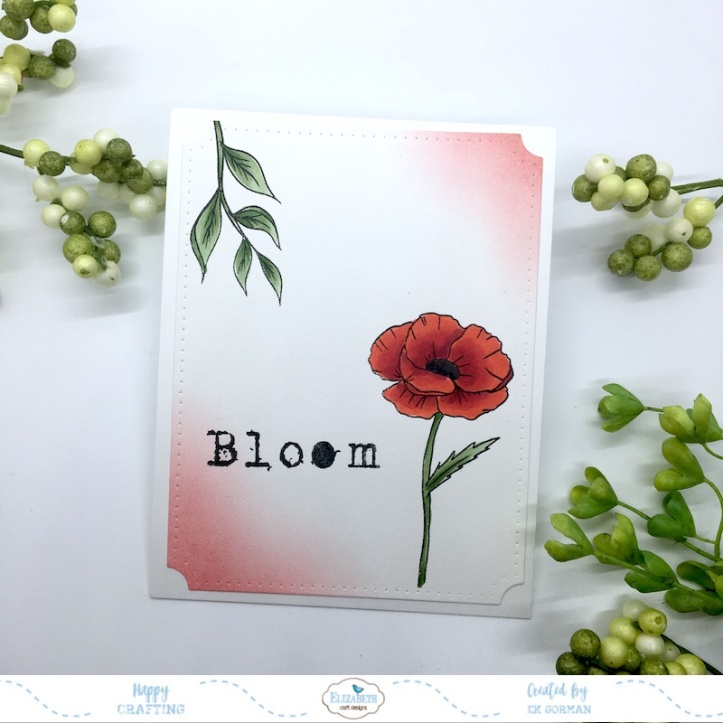 EK Gorman, Elizabeth Craft Designs, Bloom a