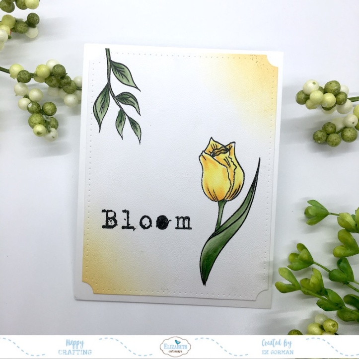 EK Gorman, Elizabeth Craft Designs, Bloom b