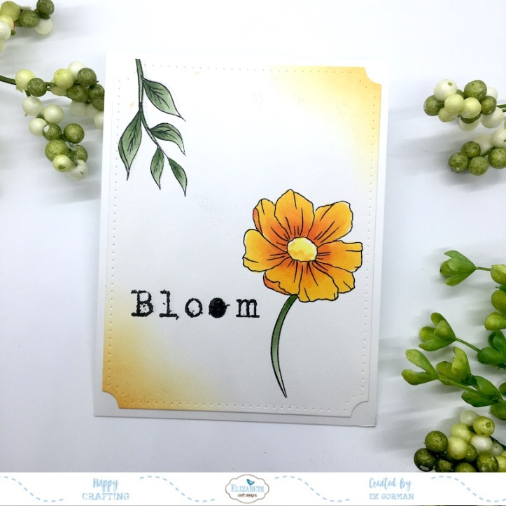 EK Gorman, Elizabeth Craft Designs, Bloom c