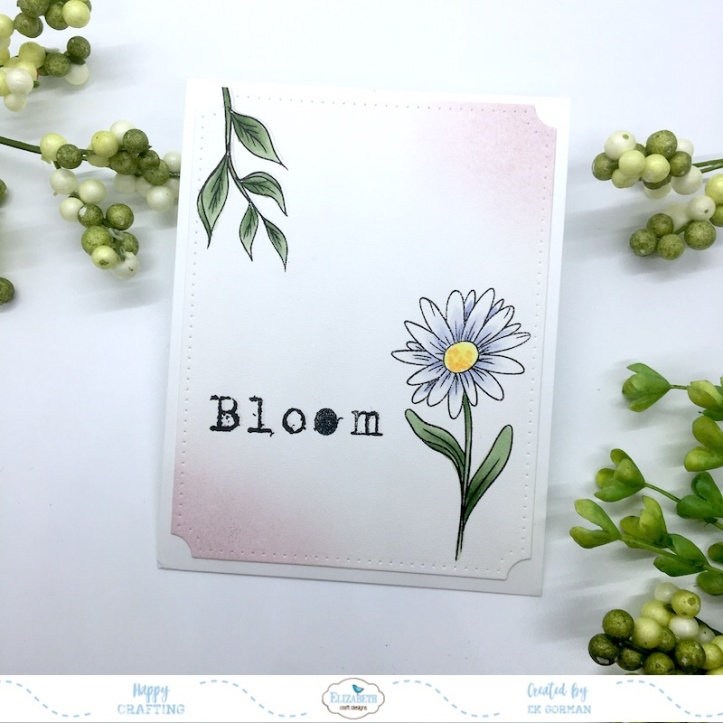 EK Gorman, Elizabeth Craft Designs, Bloom d