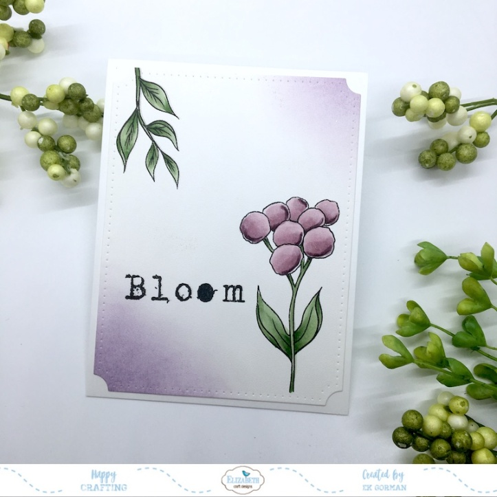EK Gorman, Elizabeth Craft Designs, Bloom e