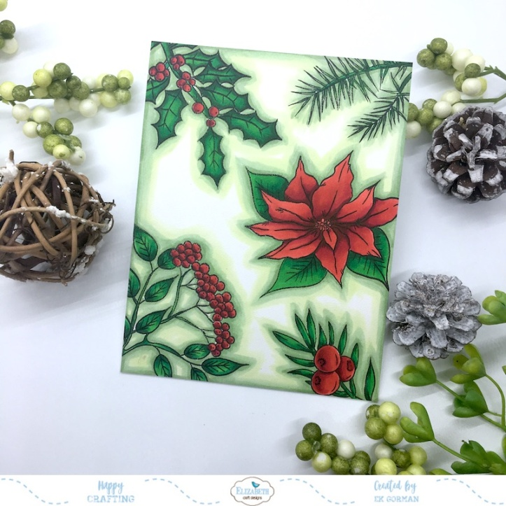 EK Gorman, Elizabeth Craft Designs Christmas Flower a