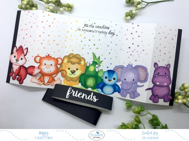EK Gorman, Elizabeth Craft Designs Rainbow Critters a