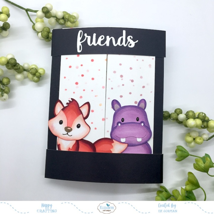 EK Gorman, Elizabeth Craft Designs Rainbow Critters e