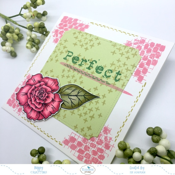 EK Gorman, Elizabeth Craft Designs, Rose b