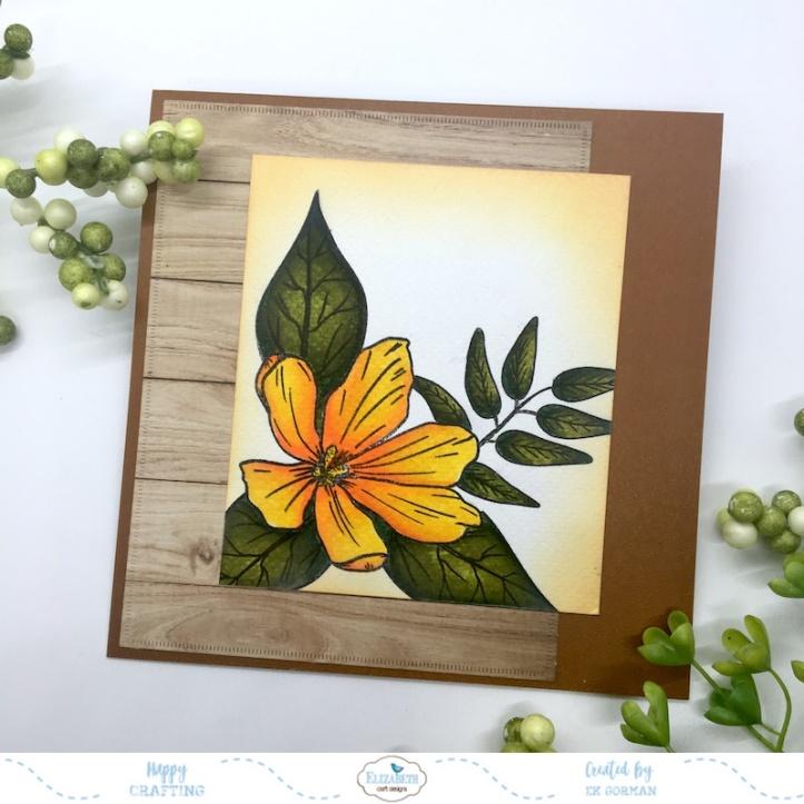EK Gorman, Elizabeth Craft Designs, Yellow Flower a