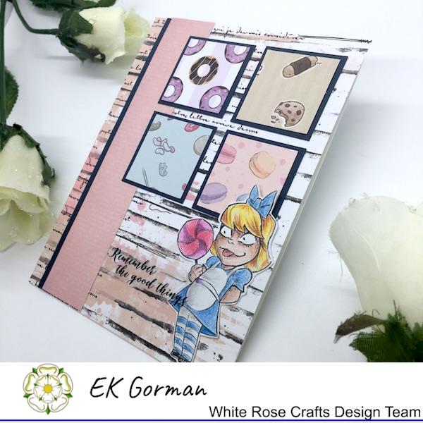 EK Gorman, White Rose Crafts, August Sketch b