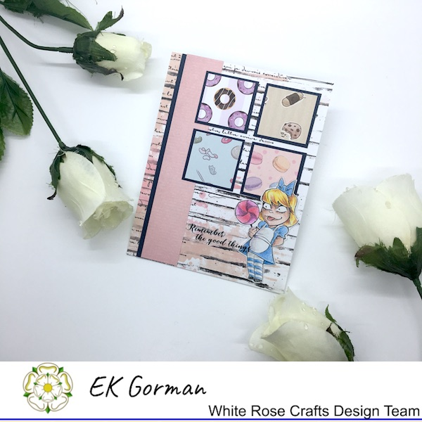 EK Gorman, White Rose Crafts, August Sketch c