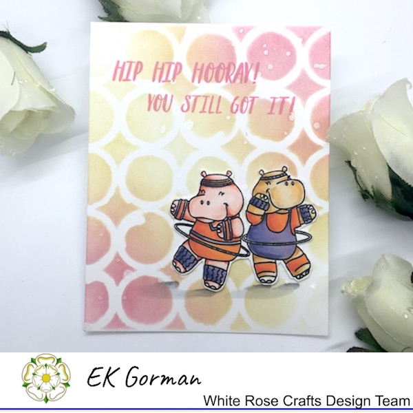 EK Gorman, White Rose Crafts, Hippo a