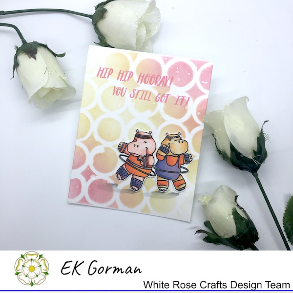 EK Gorman, White Rose Crafts, Hippo c