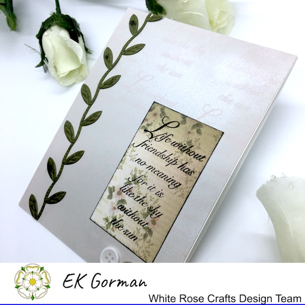 EK Gorman, White Rose Crafts, September Rose FFC 2 f